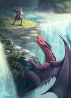 Dragon Lancer by aliphelps