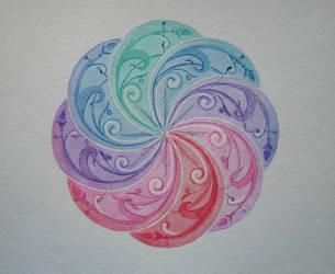 Circle of  Elements by yellika