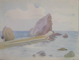 Simeiz beach 2 by yellika