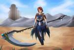 Kyra - The Silent Knight by digitanny