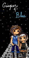 Casper n Blue by ichigo-ai