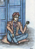 The Tenth Doctor by awesomeartano