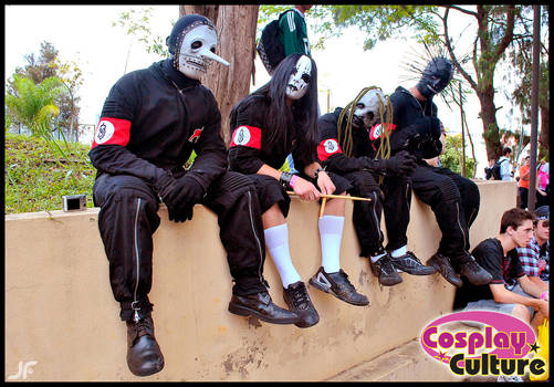 Slipknot by cosplayculture