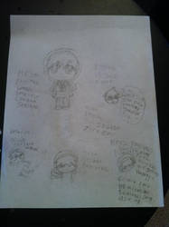 here have some random Sealand doodles by PsychoticallyCute