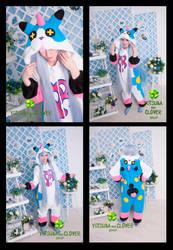 WOW Kingdom Hearts Kigurumi by HachimitsuToOkami