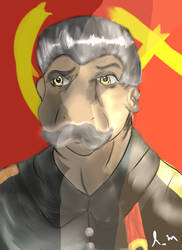 Niggi J Stalin by TheNiggiNecromancer