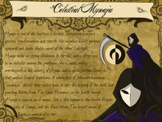 Codex: Celestial Mynaja by EmperorJustin