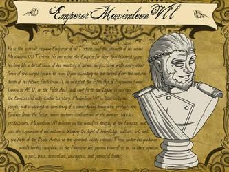 Codex: Emperor Mximleon VII by EmperorJustin