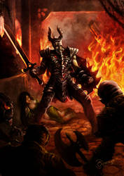 black knight by Ommega