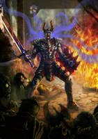 The Born of Dark Knight by Ommega