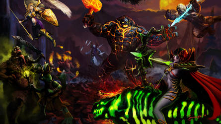 Heroes of Newerth - War by Ommega