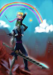 Kala and the Tin man by Borunksu