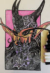 Twilight Night Elf Warrior by Raunheimer7
