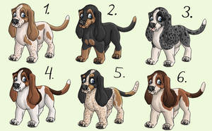 Adoptables - ALL TAKEN by Chaseya