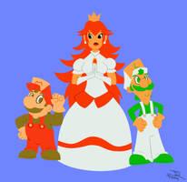 Super Mario Bros. by JR-Jayquaza
