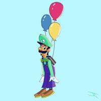 Luigi's Balloon World by JR-Jayquaza