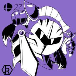 The Smashing Series 27: Meta Knight by JR-Jayquaza