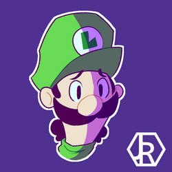 Luigi by JR-Jayquaza