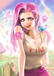 MLP- Flutter shy by Sinobilante