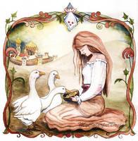 Goose Girl by Alina-Kurbiel