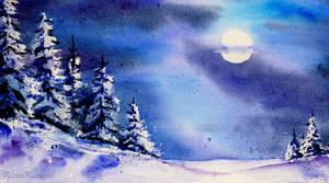 Moonlight Magic by Alina-Kurbiel