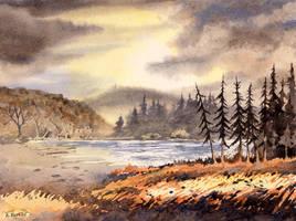 Loch Raven by Alina-Kurbiel