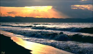 Tramonto nella sabbia by Patguli