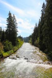 Mountain River by directql