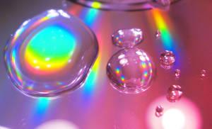 Drops of Rainbow by Dolphishy