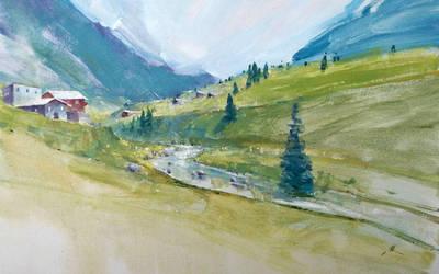 Landscape Study by alrasyid