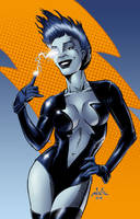 Livewire - DC Animated Universe by spacehamster