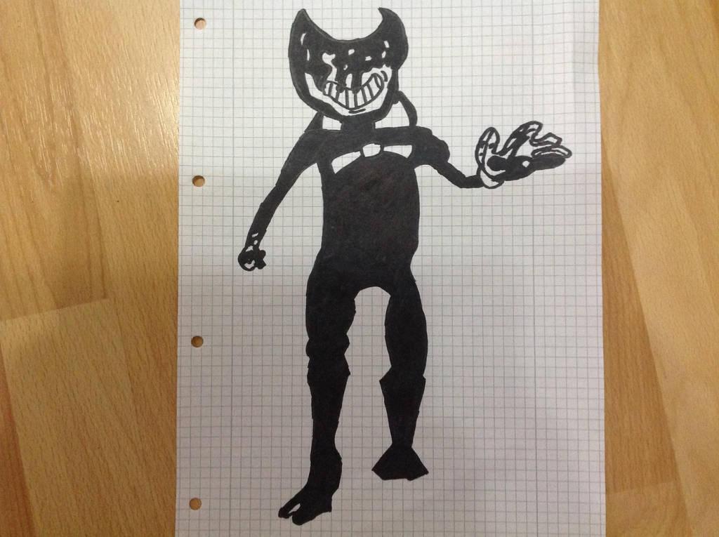 The Ink Demon by Germanantasma