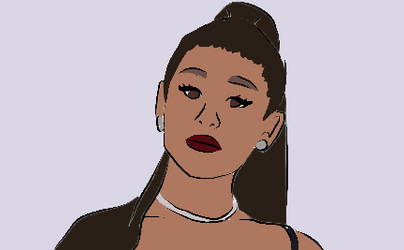 Ariana Grande by Mystical-666