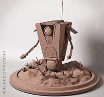 Claptrap WIP by ajeffects