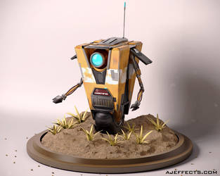 Claptrap by ajeffects