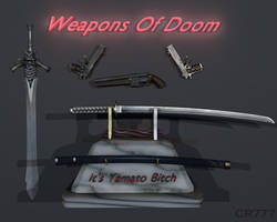 Weapons Of Doom by ChrisRedfield777