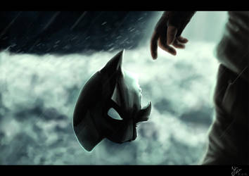 .: The Dark Knight Rises - the falling :. by SaphiraJK