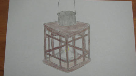 Wooden Lantern by Rytheria