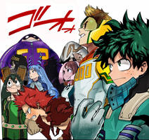 My hero Academia Boku no hero Colors Manga Anime by Amanomoon