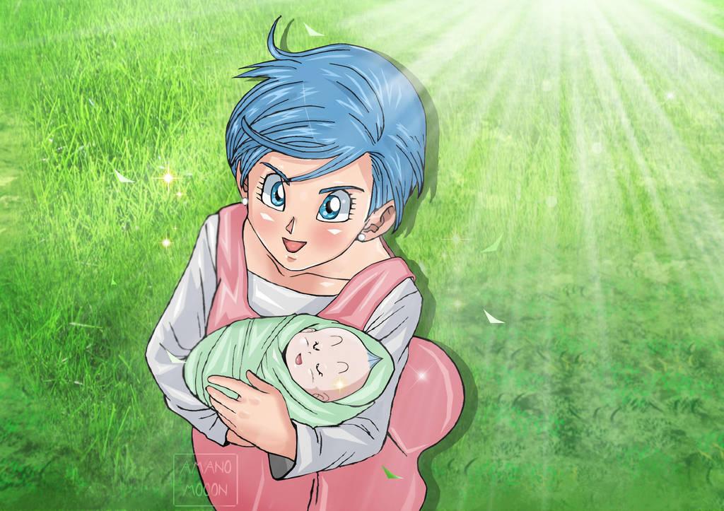 Dragon Ball Super Bulma Manga Chapter 32 Colors By Amanomoon On