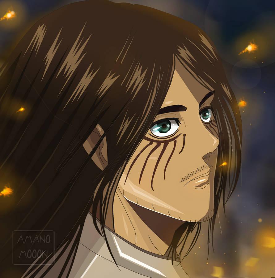 attack on titan chapter 102 kyojin eren mikasa hd by