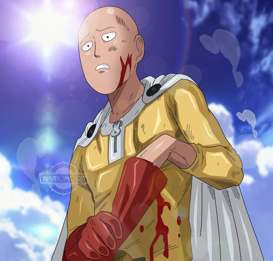 One Punch Man Saitama Colors Manga Anime Fighting by ...