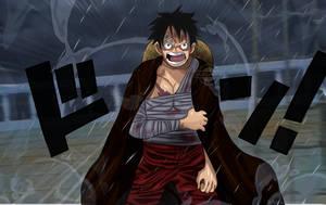 One Piece Chapter 901 Luffy Cry Big Mom Wano Kuni by Amanomoon