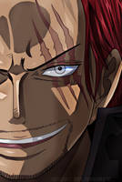 One Piece Chapter 903 Yonko Luffy Bountie Shanks by Amanomoon