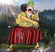One Piece 909 Wano Kuni Uso Hachi Robin Zoro Marco by Amanomoon