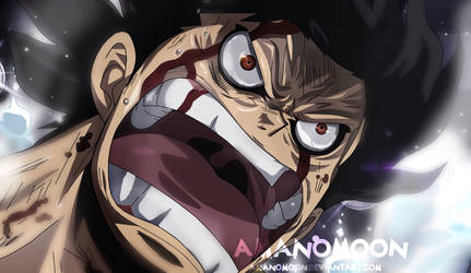 One Piece Episode 870 Luffy Snake Man Transformed by Amanomoon