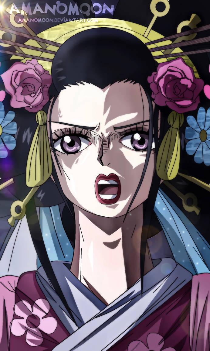 One Piece 932 Oiran Komurasaki Orochi Dragon Form by Amanomoon on DeviantArt