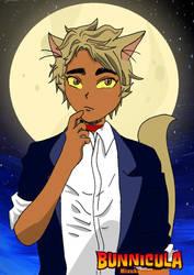 Bunnicula Chester anime by mizuki-chiharu