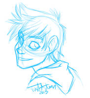Jack Frost -Sketch- by JustAutumn