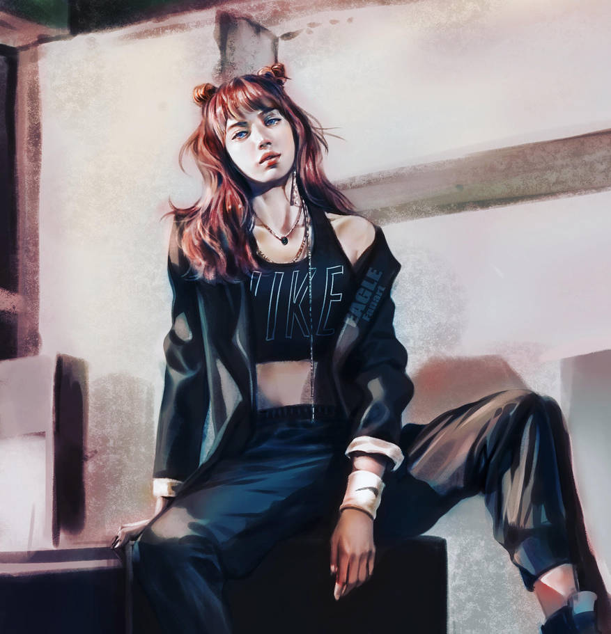 Lisa BlackPink[Fanart] by eagleDB